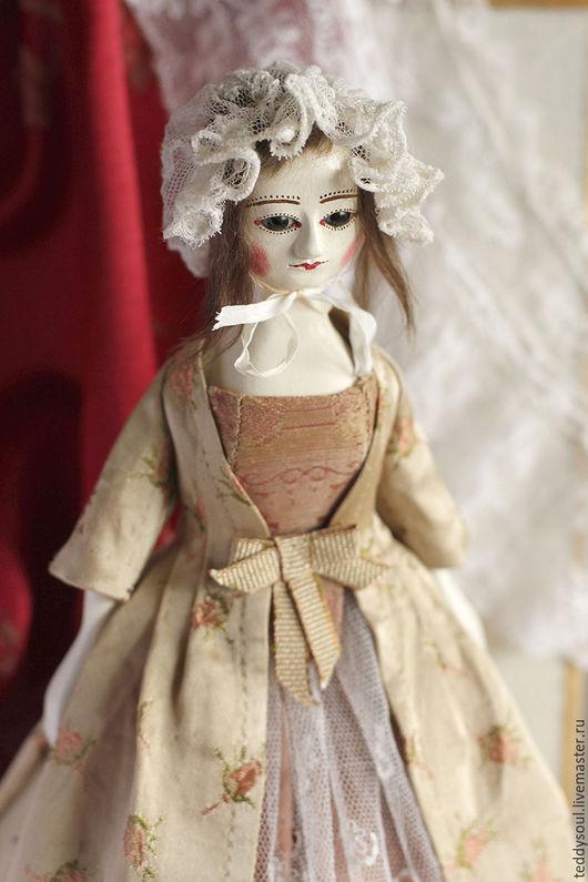 Коллекционные куклы ручной работы. Ярмарка Мастеров - ручная работа. Купить Мадлен II, деревянная кукла времен Королевы Анны. Handmade.