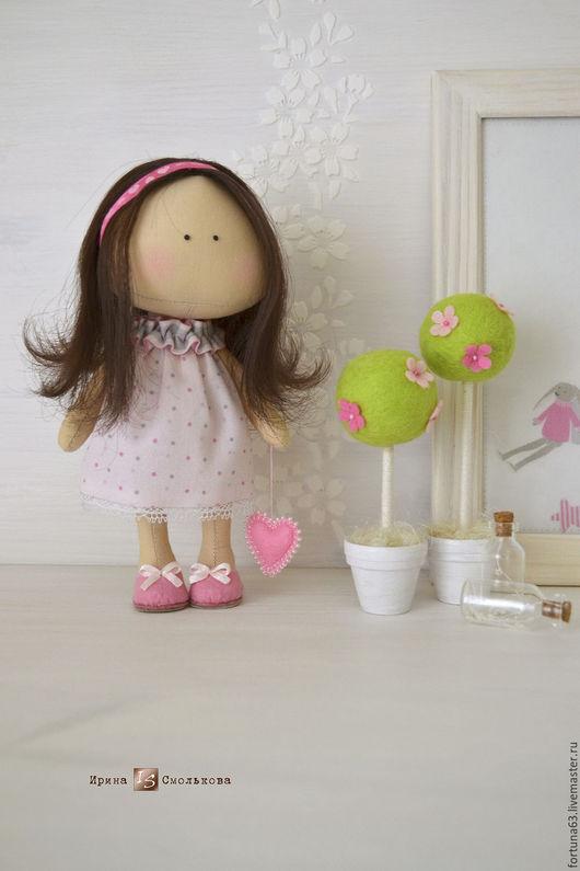 """Коллекционные куклы ручной работы. Ярмарка Мастеров - ручная работа. Купить текстильная куколка-малышка """"LOVE SUGAR"""". Handmade."""