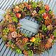 Interior wreath 'Mood'. Wreaths. Zuli. My Livemaster. Фото №4
