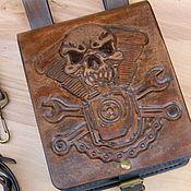 Сумки и аксессуары handmade. Livemaster - original item Bag on the thigh,Moto bag,bag belt.. Handmade.