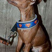 Для домашних животных, ручной работы. Ярмарка Мастеров - ручная работа Ошейник для собаки.  Полуудавка. Handmade.