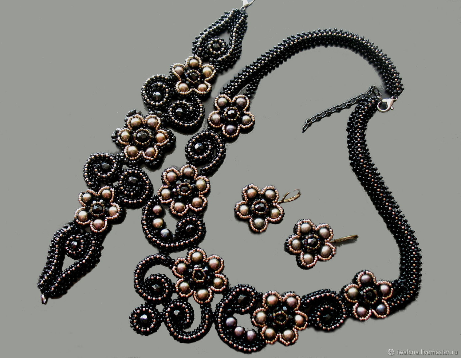 Set 'In the style of e', Jewelry Sets handmade, St. Petersburg, Фото №1