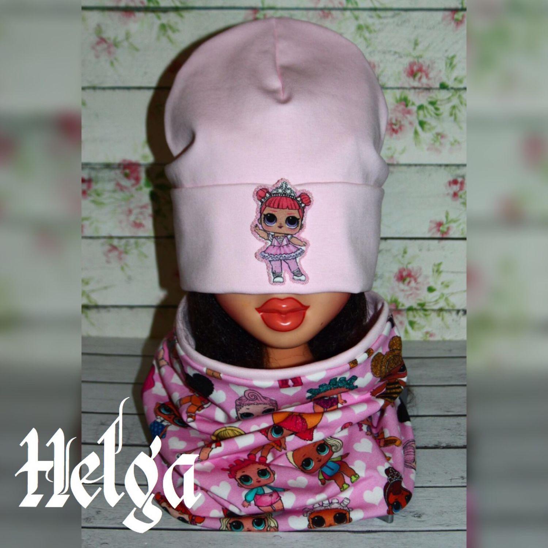 Розовый комплект «Куколка ЛОЛ», Шапки, Волгоград,  Фото №1
