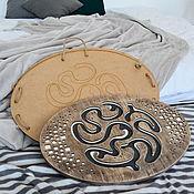 Активный отдых и развлечения handmade. Livemaster - original item Balance board with a maze (balancer) 55h40cm. Handmade.
