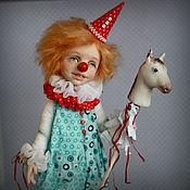 Куклы и игрушки ручной работы. Ярмарка Мастеров - ручная работа Клоун Пашка. Новый образ. Handmade.