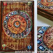 Канцелярские товары handmade. Livemaster - original item Diary Of Astro-Tarot. Handmade.