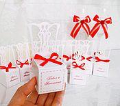 Свадебный салон ручной работы. Ярмарка Мастеров - ручная работа бонбоньерки стульчики. Handmade.
