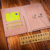 Канцелярские товары handmade. Livemaster - original item Paper folder-folder for the Midori Traveler`s Journal (PassportSize). Handmade.