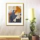 Картина Абстракция Маслом  на холсте художник Марина Маткина Пермь Москва Спб заказать купить картину на заказ