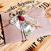 Сувениры и подарки handmade. Livemaster - original item Gift certificates for any amount, gift for the new year, March 8. Handmade.