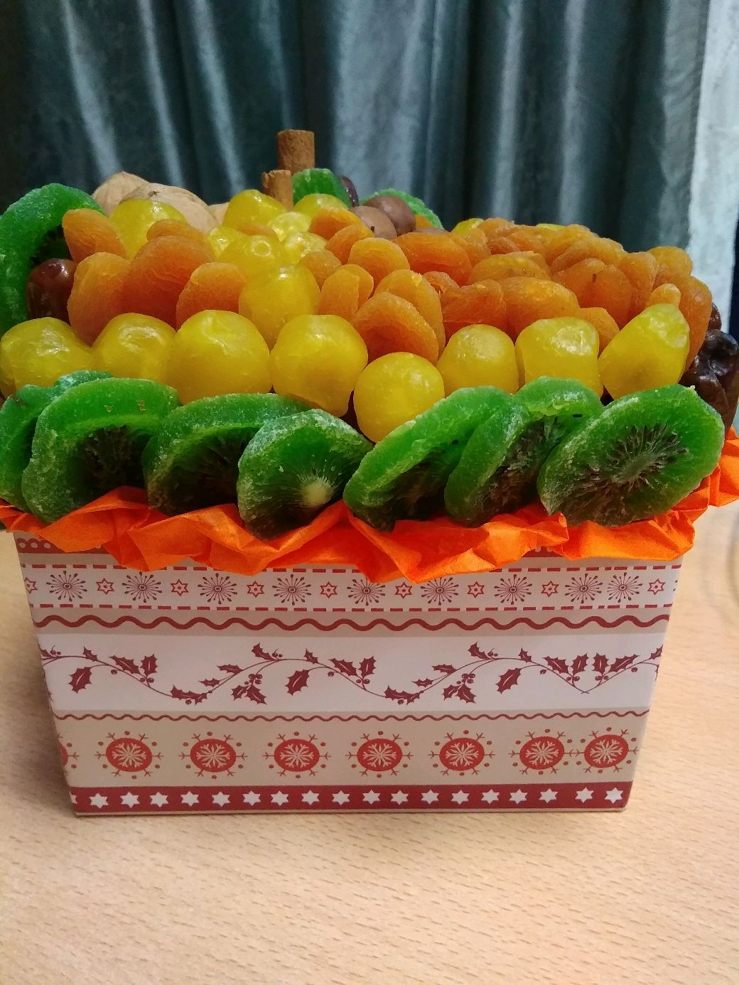 Коробочка с сухофруктами, Кулинарные сувениры, Самара,  Фото №1