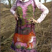 """Одежда ручной работы. Ярмарка Мастеров - ручная работа Сарафан """"Лисий лес"""". Handmade."""