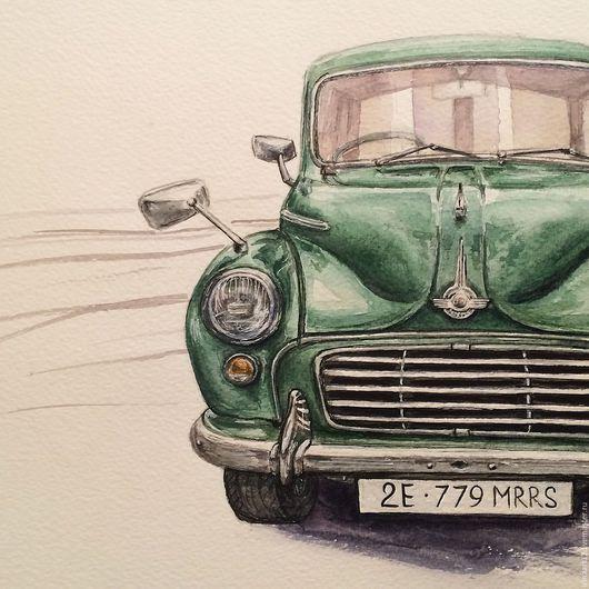 Ретро-автомобиль марки Morris