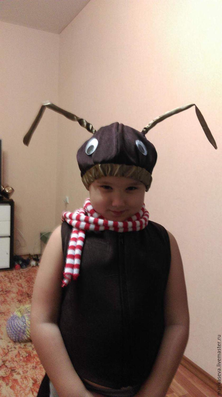 Костюм муравья для мальчика своими руками фото из бумаги 49