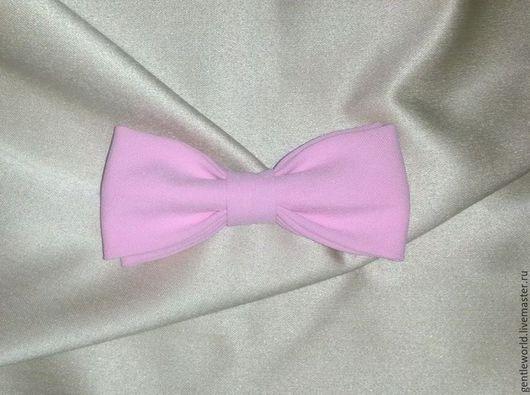 """Свадебные аксессуары ручной работы. Ярмарка Мастеров - ручная работа. Купить галстук бабочка  """" Роза"""". Handmade. Розовый"""