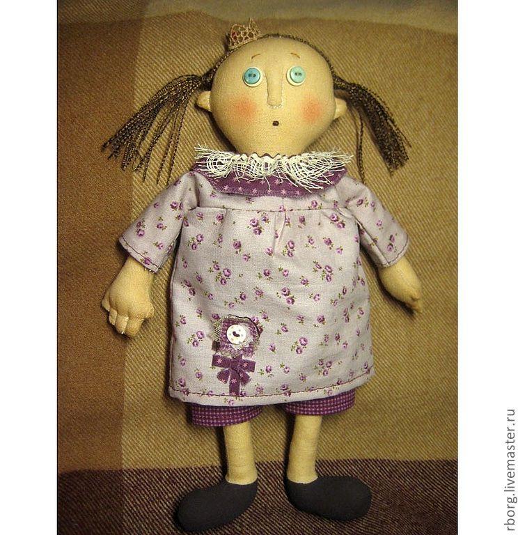 Кукла из ниточек