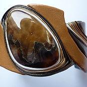 Украшения ручной работы. Ярмарка Мастеров - ручная работа браслет с симбирцитом. Handmade.