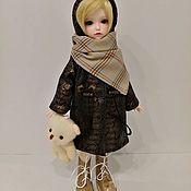 """Одежда для кукол ручной работы. Ярмарка Мастеров - ручная работа Наряд для куклы """"Осенний"""". Handmade."""
