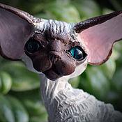 Подарки к праздникам handmade. Livemaster - original item Tim. Cat Devon Rex.. Handmade.