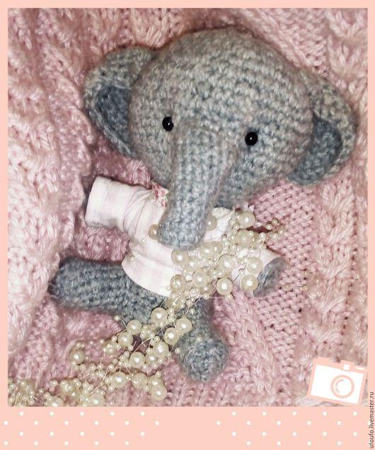 Игрушки животные, ручной работы. Ярмарка Мастеров - ручная работа. Купить СЛО Няшка Elephangel  Baby. Handmade. Слон игрушка