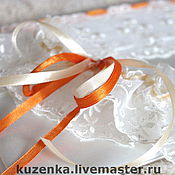 Свадебный салон ручной работы. Ярмарка Мастеров - ручная работа Яркая весна - подвязка. Handmade.