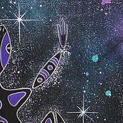 """Картины и панно ручной работы. Ярмарка Мастеров - ручная работа Картина """" Танцующий Ящер Мироздания"""". Handmade."""