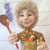 Куклы и игрушки handmade. Livemaster - original item Brownie in a mug. Handmade.