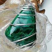Фен-шуй и эзотерика handmade. Livemaster - original item Pendant with malachite