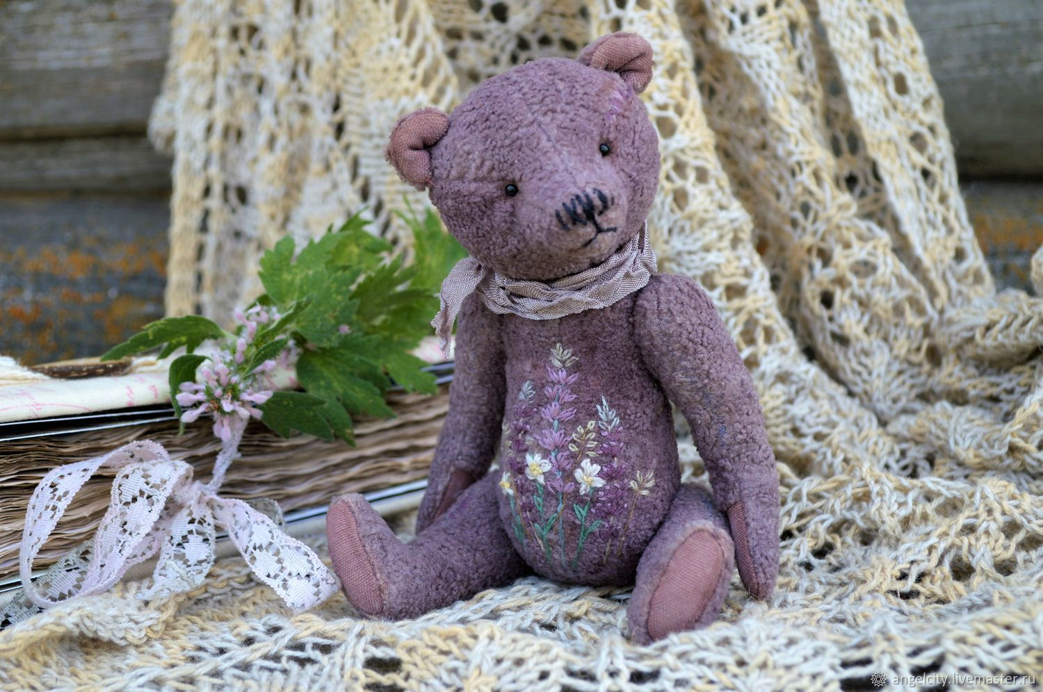 Vincent or Lavender Tummy, Stuffed Toys, Samara,  Фото №1