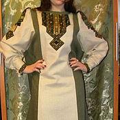 """Одежда ручной работы. Ярмарка Мастеров - ручная работа платье """"Лесная сказка"""". Handmade."""