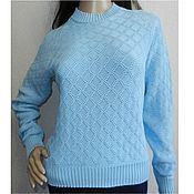 Одежда handmade. Livemaster - original item Blouse knitted Air. Handmade.
