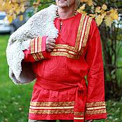 Одежда ручной работы. Ярмарка Мастеров - ручная работа Свадебная рубаха. Handmade.