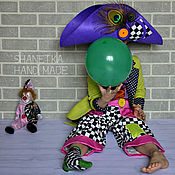 Работы для детей, handmade. Livemaster - original item Carnival Clown costume children`s. Handmade.