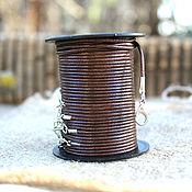 Материалы для творчества handmade. Livemaster - original item Braided cord for pendant 60 cm. Handmade.