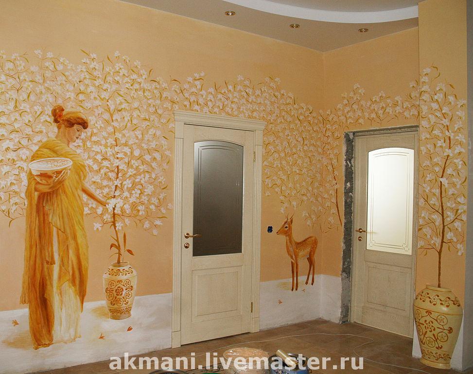 стены на рисунки работы ручной