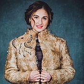 Одежда ручной работы. Ярмарка Мастеров - ручная работа Куртка из шерсти по мотивам куртки Благородный беж. Handmade.