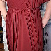 Одежда ручной работы. Ярмарка Мастеров - ручная работа Платье  Водопад. Handmade.