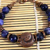 Украшения handmade. Livemaster - original item Bracelet with Sodalite natural stone. Handmade.. Handmade.