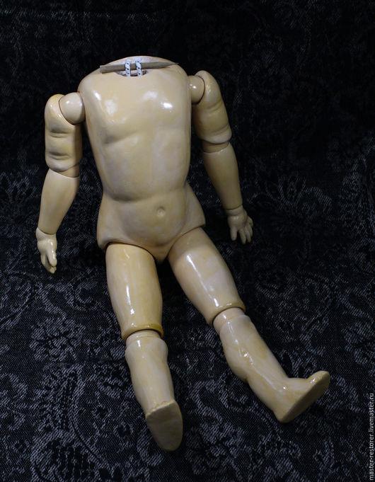 Реставрация. Ярмарка Мастеров - ручная работа. Купить Шарнирно-композитное тело антикварной куклы. Handmade. Реставрация, Реставрация куклы