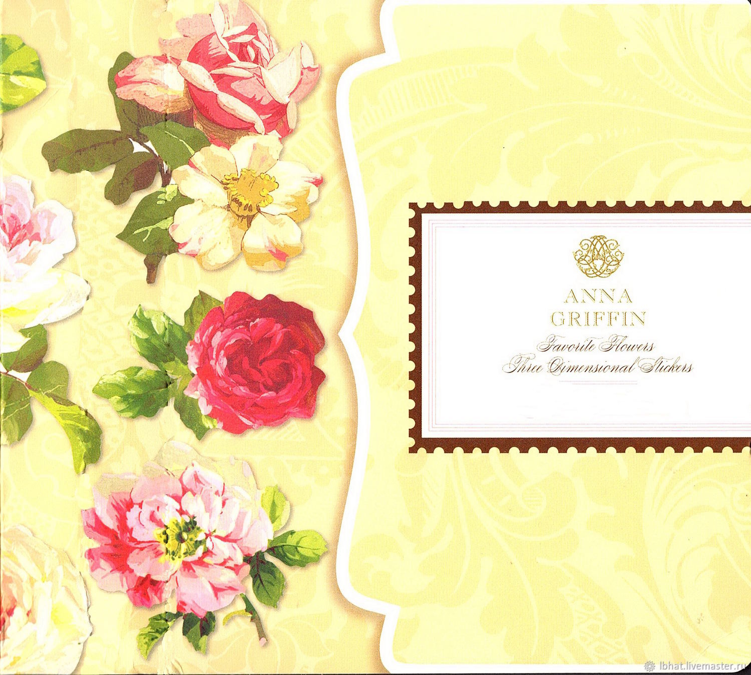 Anna Griffin favorite Flower Stickers set (120-Count), Sticker, Moscow,  Фото №1