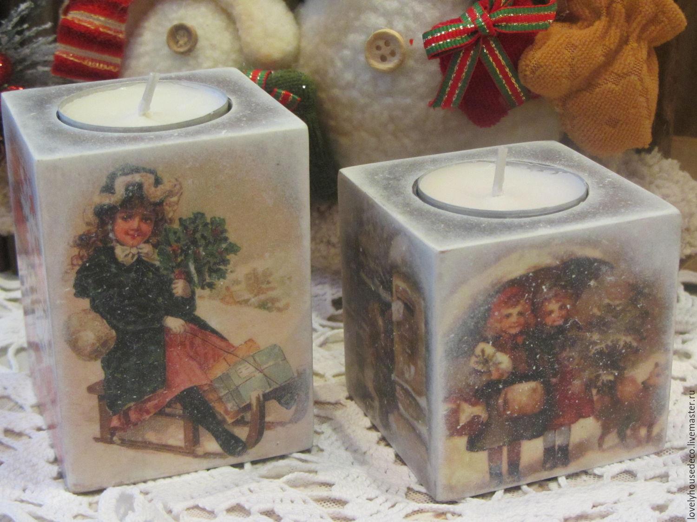 """Подсвечники """"Merry Christmas"""", Подсвечники, Мозырь, Фото №1"""