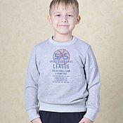 Одежда handmade. Livemaster - original item Sweatshirts: For boys and girls. Handmade.