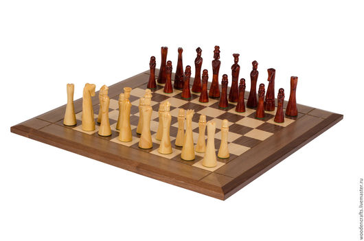 Настольные игры ручной работы. Ярмарка Мастеров - ручная работа. Купить Шахматные фигуры из розового дерева. Handmade. Комбинированный, конь