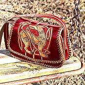 Сумки и аксессуары handmade. Livemaster - original item A red bag