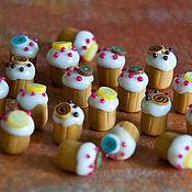 Куклы и игрушки ручной работы. Ярмарка Мастеров - ручная работа Кулинарная миниатюра. Handmade.