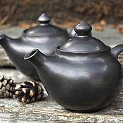Посуда ручной работы. Ярмарка Мастеров - ручная работа Маленький керамический чайничек. Handmade.