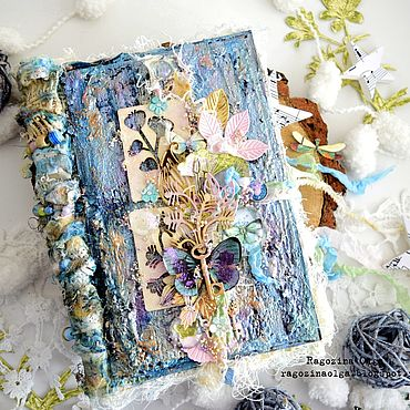 Для дома и интерьера ручной работы. Ярмарка Мастеров - ручная работа Фотоальбомы: Botanic Junk. Handmade.