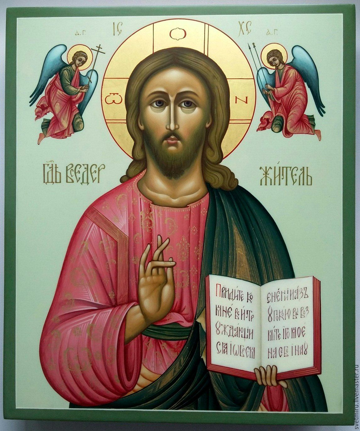 The Lord Almighty.Icon of the blessing Lord, Icons, St. Petersburg,  Фото №1