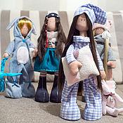 Куклы и игрушки ручной работы. Ярмарка Мастеров - ручная работа Текстильная кукла-сплюшка Соня.. Handmade.