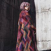 """Одежда ручной работы. Ярмарка Мастеров - ручная работа Жакет кардиган """"Драгоценных камней грани"""" из шерсти. Handmade."""